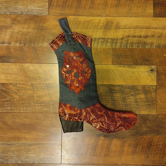 None Other - Boot Shaped Christmas Stocking